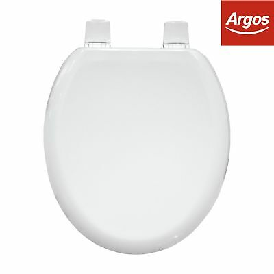 Terrific Argos Home Moulded Wood Toilet Seat 36 45 Picclick Uk Pdpeps Interior Chair Design Pdpepsorg