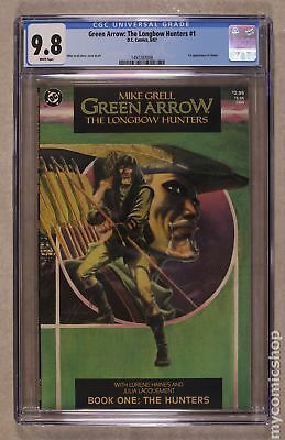 Green Arrow The Longbow Hunters #1 1987 CGC 9.8 1497283008