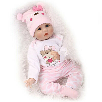 Simulated Handmade Cute And Soft Touch Lifelike Silicone Baby Girl Reborn Toy