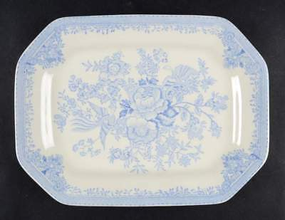 "Burgess & Leigh ASIATIC PHEASANTS BLUE 10"" Oval Serving Platter 2394046"