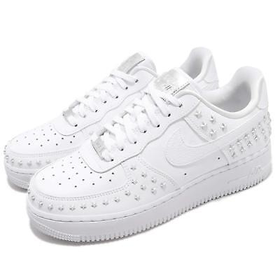 Nike Wmns Air Force 1 07 XX White Silver Star-Studded Women AF1 Shoes AR0639-100