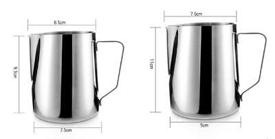 Well Stainless Steel Milk Craft Coffee Latte Frothing Art Jug Pitcher Mug Cup DG