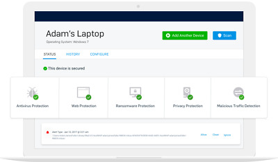 Sophos Home Premium.Security,anti Ransomware Malware,up to 10 devices 1 year sub