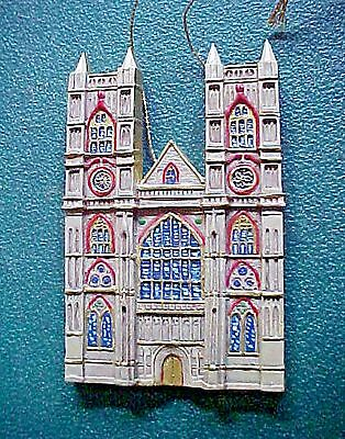 CATHEDRALS OF THE WORLD CHRISTMAS ORNAMENT Westminster Abbey