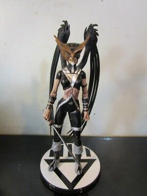 DC Direct Blackest Night: Series 6: Black Lantern Hawkgirl Action Figure~