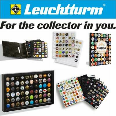 Lighthouse Leuchtturm Champagne Beer bottle caps tops Display Storage albums