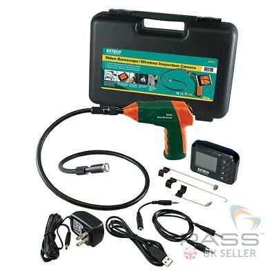 Extech BR200 Video Borescope/Wireless Inspection Camera + Full Accessory Kit!!