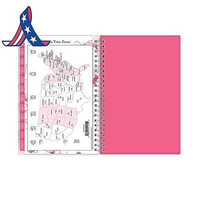 """Blue Sky 2019 Weekly  Monthly Planner, Flexible Cover, Twin-Wire Binding, 5"""" X"""