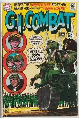 G.I. Combat # 138 Strict VF/NM Cover Joe Kubert 1st Appearance The Loosers