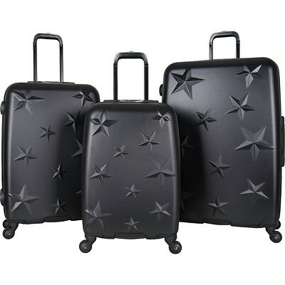 Aimee Kestenberg Star Journey 3 Piece Lightweight Luggage Set NEW