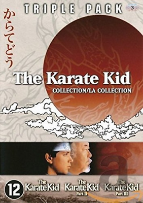 Movie-Karate Kid Triple Pack (Uk Import) Dvd [Region 2] New