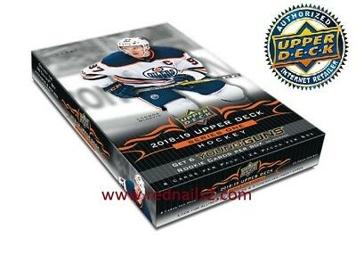 2018/19 Upper Deck  Series 1 Hockey Hobby Box  New/sealed