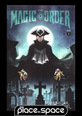 The Magic Order #1E - A Place In Space Exclusive Variant (Netflix) (Wk24)