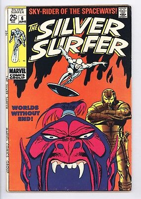 Silver Surfer #6 Vol 1 Very High Grade Tales of the Watcher Backup Story