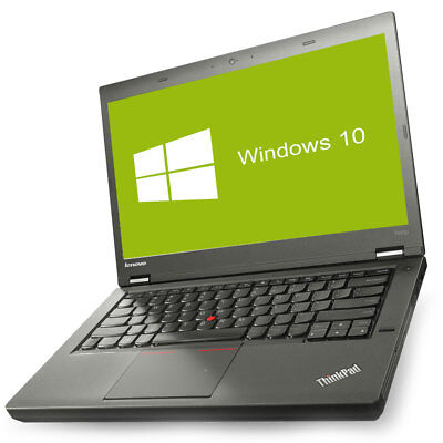 Lenovo ThinkPad T440p Notebook Intel Core i5-4210M 2x 2,6GHz 8GB RAM 500GB HDD