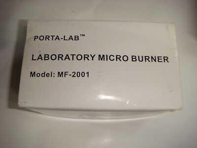 Porta Lab Laboratory Micro Burner  Mf 2001
