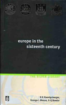 Europe in the Sixteenth Century by H. Koenigsberger (English) Paperback Book Fre