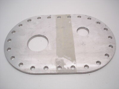 Nascar Atl / Fuel Safe Fuel Cell Top Build Your Own Blank Fill Neck Plate #508
