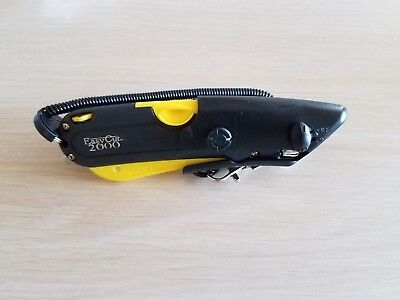 Easy Cut 2000 Safety Box Cutter Knife; Holster & Lanyard Easycut BEST EBAY DEAL