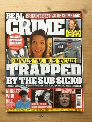 Real Crime Magazine - Issue 38 - Mint - Free P&p