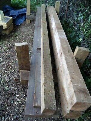 10 Foot Fence Post Wood