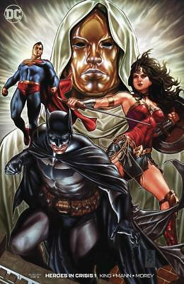 Heroes in Crisis 1 2018 Variant 1:100 Mark Brooks Cover DC FREE SHIP Tom King