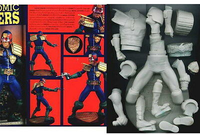 "11""JUDGE DREDD Super Hero Sci-Fi Vinyl Model Kit 1/6"