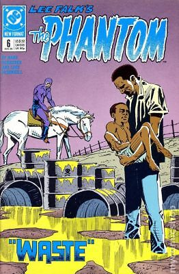 Phantom (DC 2nd Series) #6 1989 VF Stock Image