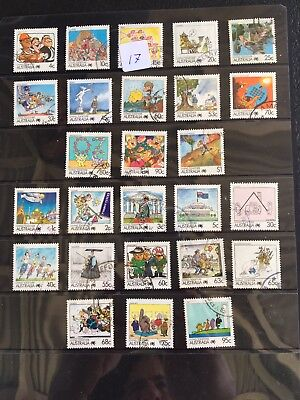 Australian Stamps x 26 very good condition