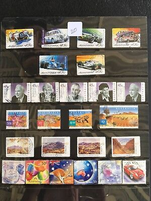 Australian Stamps x 25 very good condition