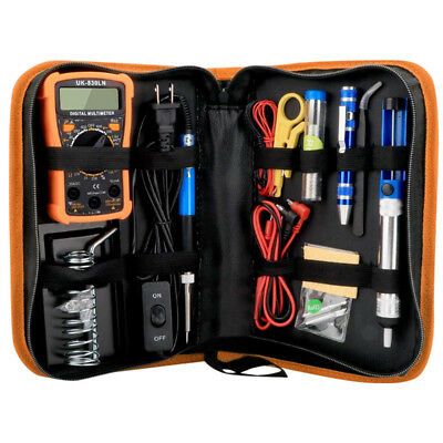 Soldering Iron Kit Electrical Welding Tool Gun Set Solder Station 60W 110V Multi