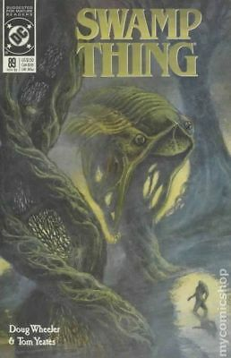 Swamp Thing (2nd Series) #89 1989 VF Stock Image