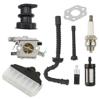 New Carburetor Kit For Stihl MS210 MS230 MS250 021 023 025 Chainsaw Air Filter