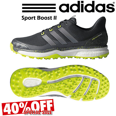 info for b3aa2 4100b Adidas Adipower Sport Boost 2 Waterproof Mens Golf Shoes Spikelesss   40%  Off