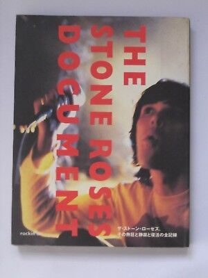 Stone Roses Document Rare Japanese Book 1995 Ian Brown John Squire Madchester