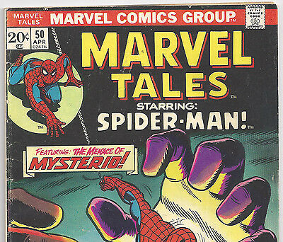The Amazing Spider-Man #67 Reprint in Marvel Tales #50 from Apr. 1974 in VG/F
