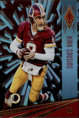 2016 Panini Phoenix Red Washington Redskins Football Card  98 Kirk Cousins d0ca1e1f74a