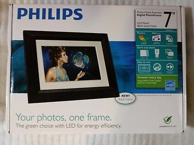 Philips 7 Led Digital Photo Frame By Philips Spf307ig7 Black