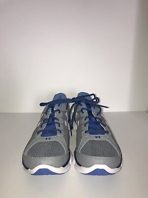 23bed88d3082d UNDER ARMOUR MEN'S Freedom Assert 6 Running Shoes (Gray and Blue)