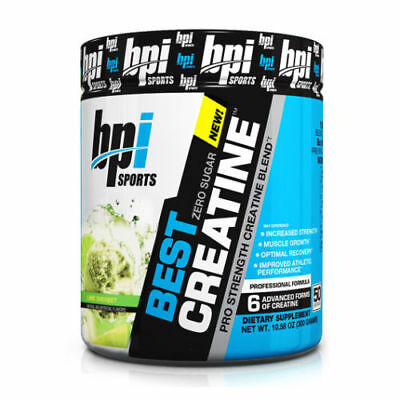 BPI Sports Best Creatine (50 Servings) Pre/Post Workout LIME SHERBET NEW SEALED