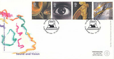 (15697) GB FDC Sound & Vision Taylor Bell Founders Loughborough 5 December 2000
