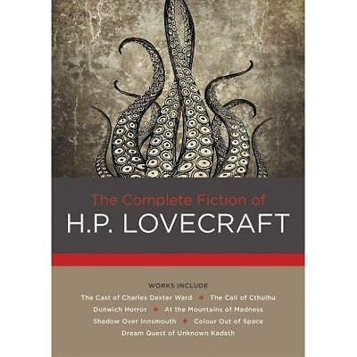 The Complete Fiction of H. P. Lovecraft - Hardcover NEW Lovecraft, H. P 2016-08-