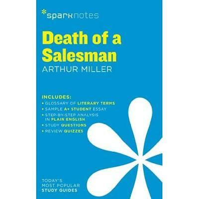 Death of a Salesman by Arthur Miller (SparkNotes Litera - Paperback NEW SparkNot