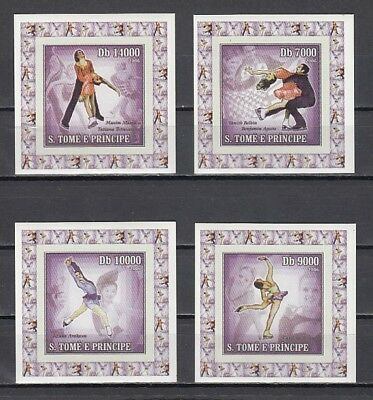 St. Thomas, Mi cat. 2734-2737. Winter Olympics issue on 4 Small s/sheets.