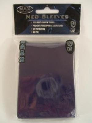 Max Protection Card Protection Neo Sleeves - Alpha Black (50) MINT