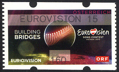 Österreich: EUROVISION SONG CONTEST 2015, Ring, 160 cent EUROVISION 15
