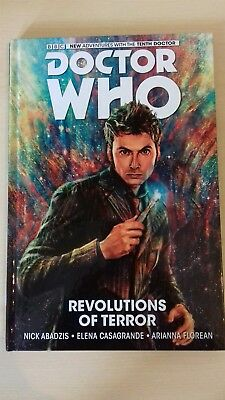 DOCTOR WHO New Adventures With The Tenth Doctor Hardback revolutions of terror