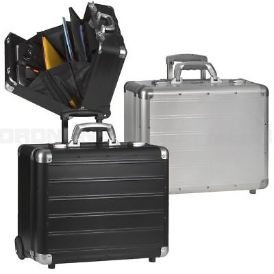 Chariot Mallette Pilote Valise Trolley Business Overnight Compartiment Classeur