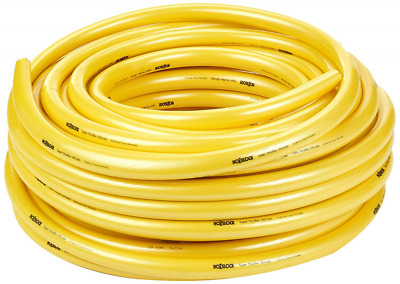 "Hozelock 139142 19 mm 25 m ""Super Tricoflex Ultimate"" Water Hose - Yellow"