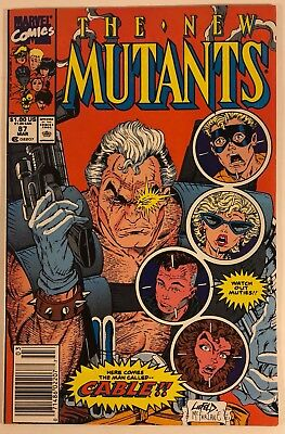 The New Mutants #87 (Mar 1990, Marvel) First Appearance Of Cable
